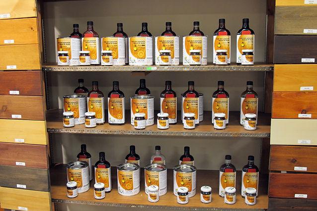 Produits écologiques pour le bois