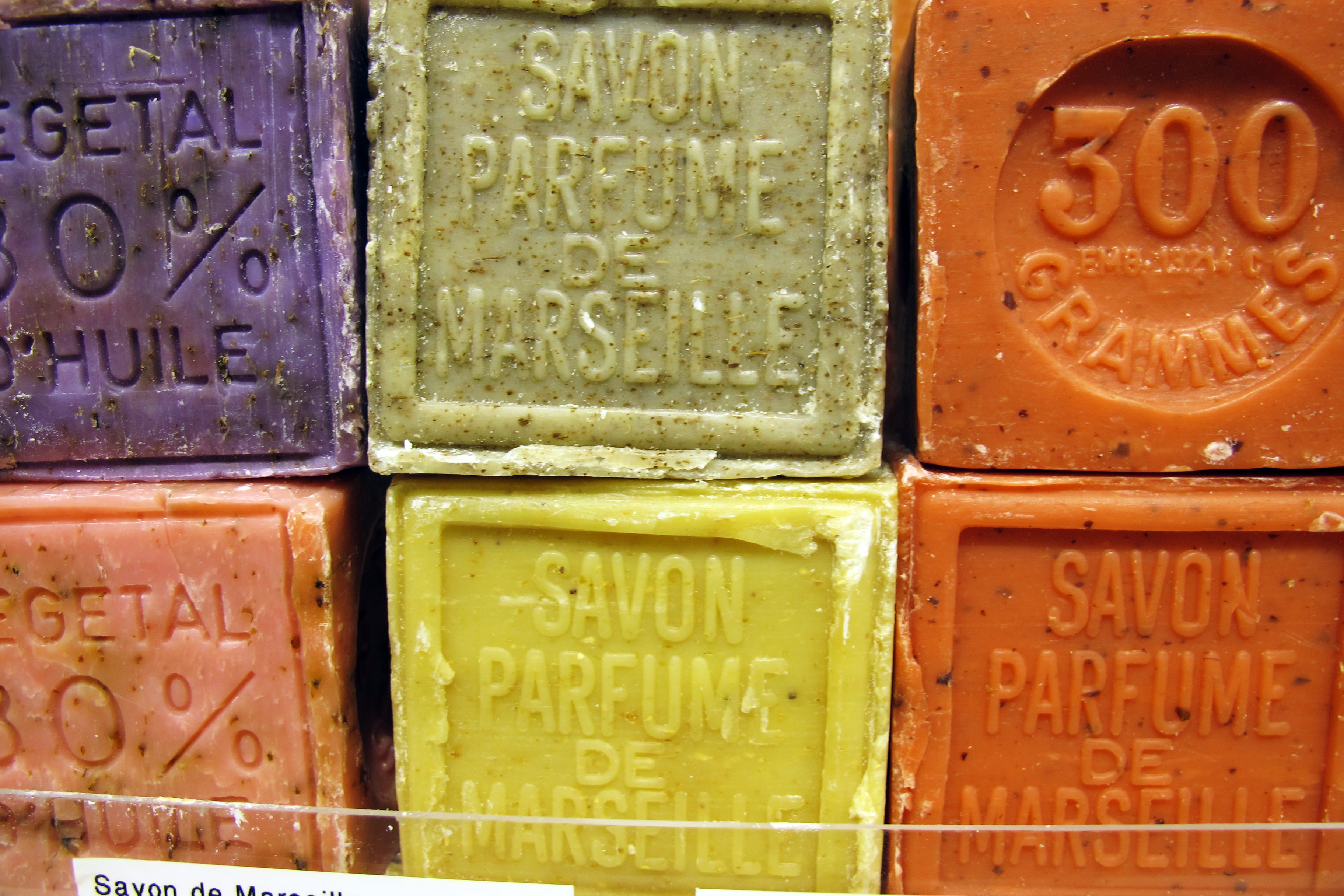 Savons de Marseille parfumés