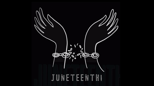 Juneteenth - celebration of freedom from slavery - Design Ulrike kerber