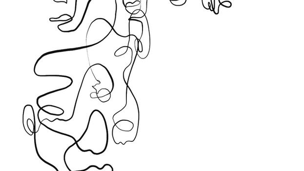 Viva Design - oneline drawing for social media
