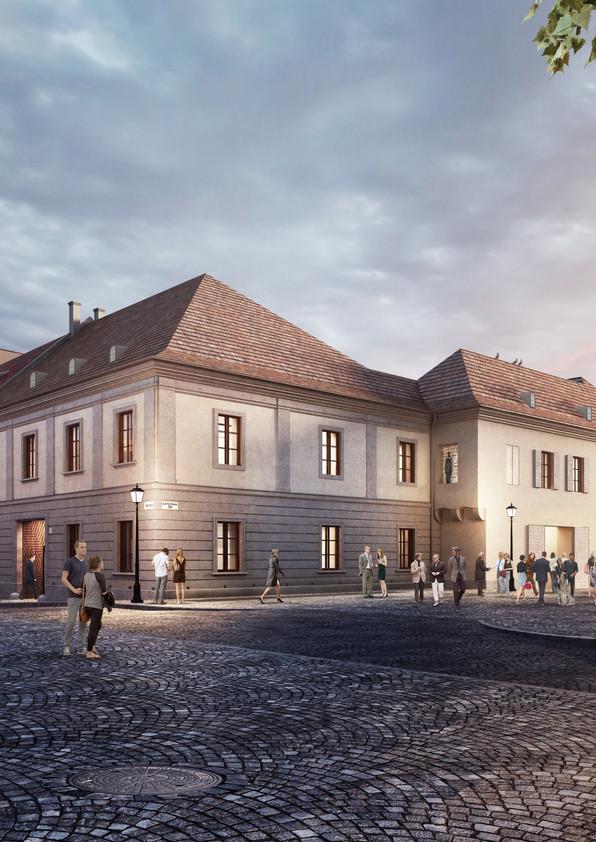 Műemléki épület felújítása az Úri utcában 2015-2019