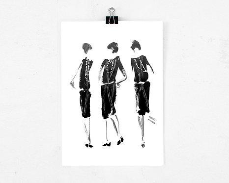Art print - Chanel Dansers