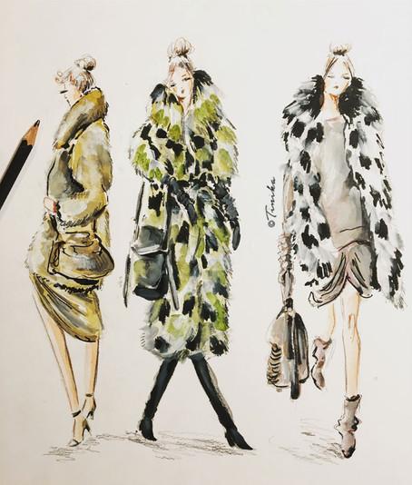 Michael Cors - fashion coats