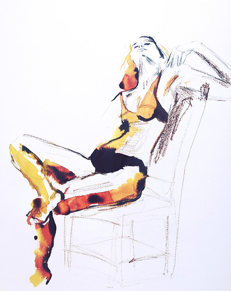 Women on chair