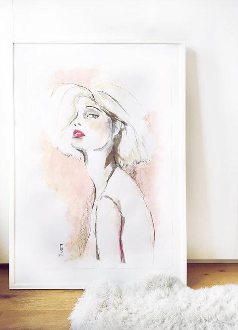 Painting - Blush