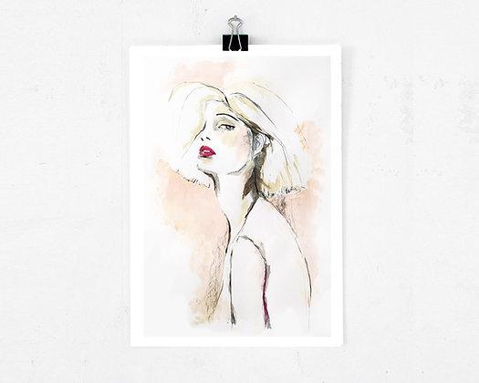 Art print - Blush