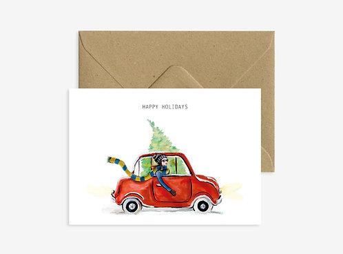 Card - Car