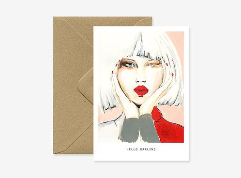 Card - Wink