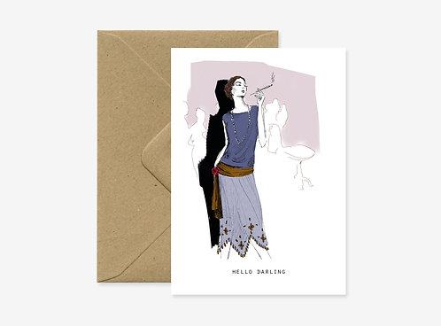 Card - Smoke
