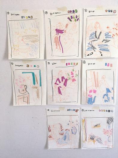 Atelier Tinika paintings