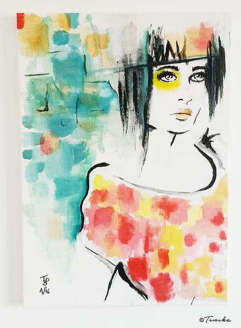 Painting - Yellow Eye