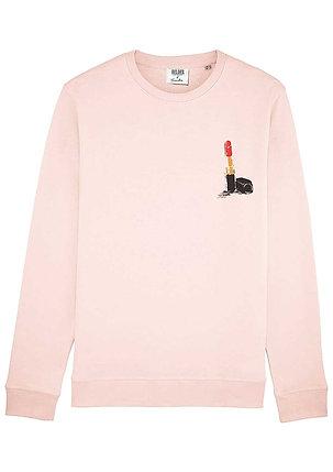 Lipstick sweater