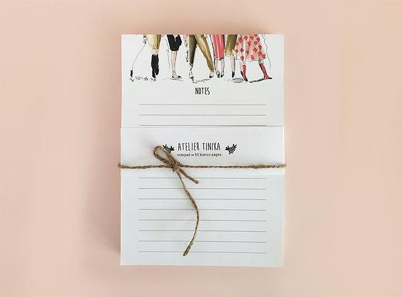 Notepad Ladies