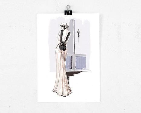 Art print - Evening Gown
