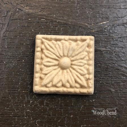 WoodUbend Square Flower 3,3x3,3 cm