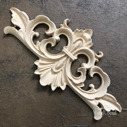 WoodUbend Pediment/Giebel 15,7x7,5cm