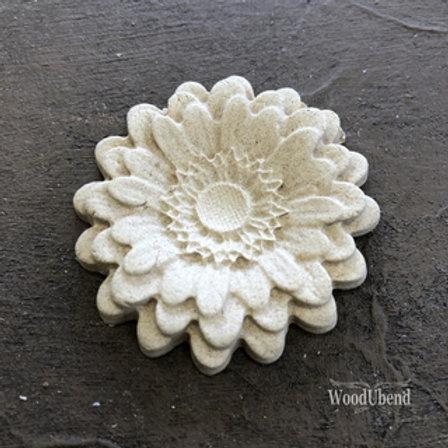 WoodUbend Pedal Flower 3,3 x 3,3 cm