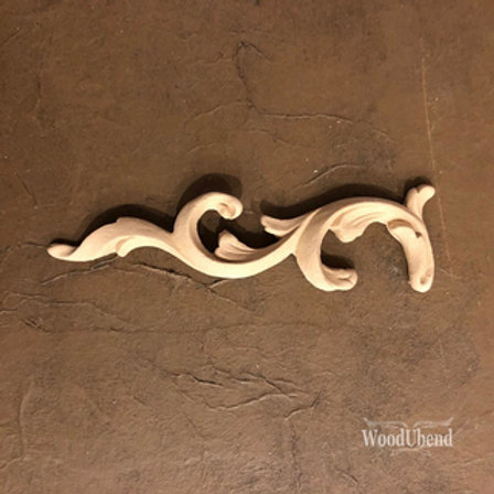 WoodUbend Scroll -left- 16,6 x 4,5 cm