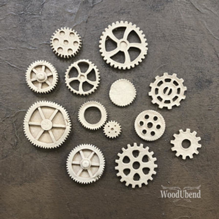 Woodubend sorted gears