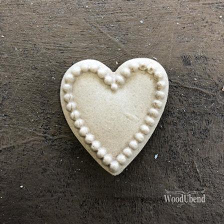 WoodUbend Heart 3 x 3,5 cm