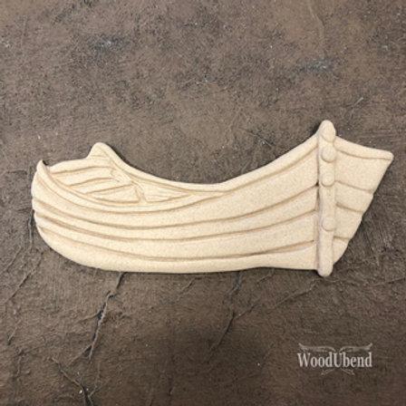 WoodUbend boat 17,7x7,6 cm