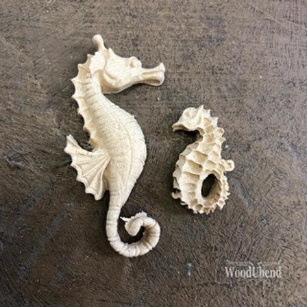 WoodUbend Sea horses 5x1,5 cm
