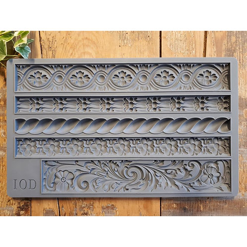 Iron Orchid Designs IOD Mould Trimmings 2;  15,24 x 25,40 x 1,27 cm
