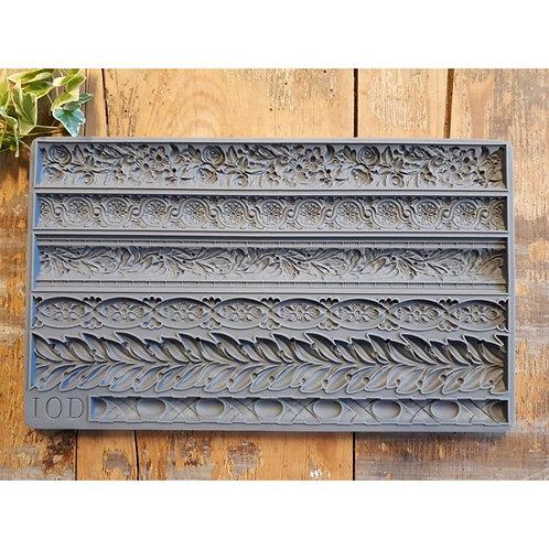IOD Mould Trimmings 1 , 15,24 x 25,40 x 1,27 cm