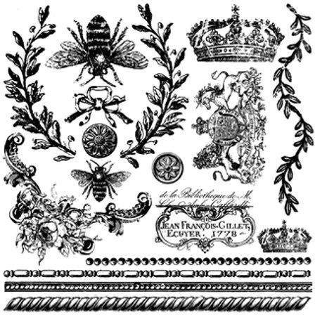 IOD Decor Stempel Queen Bee