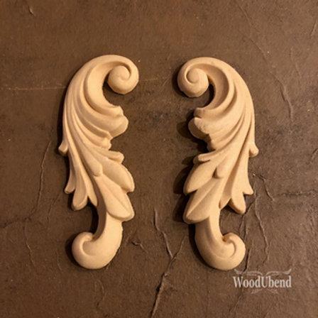 WoodUbend Scroll Set - 2pcs 12 x 5 cm