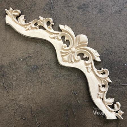 WoodUbend Pediment/Giebel 21,2 x 6,1 cm