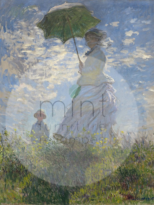 Lady with parasol