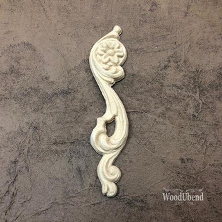 WoodUbend Scroll - left - 12,2 x 2,8 cm