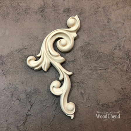 WoodUbend Ornament -links, 18x14x13 cm
