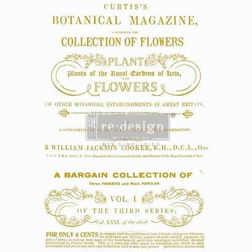 Dekor Transferfolie Flower Collector