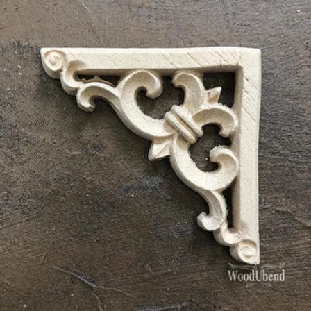 WoodUbend Barock Corner 5,9x5,9 cm