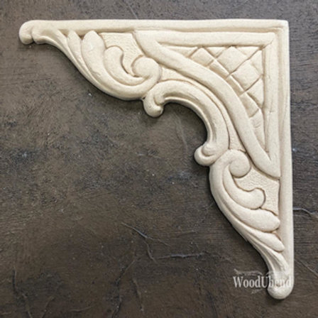 WoodUbend Barock Corner 12,1x12,1 cm