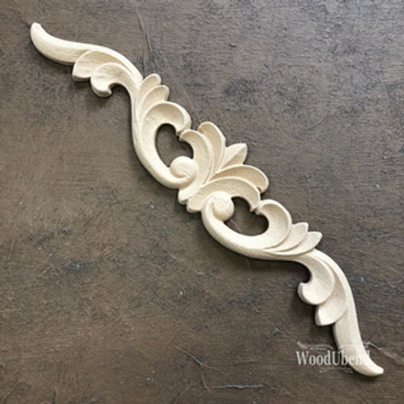 WoodUbend Pediment/Giebel 22x4 cm