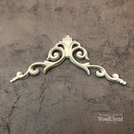 WoodUbend Pediment/Giebel 13x13 cm