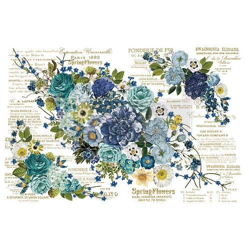 Dekor Transferfolie Cosmic Roses