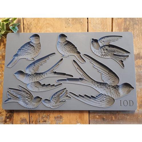 IOD Mould Birdsong 15,24 x 25,40 x 1,27 cm