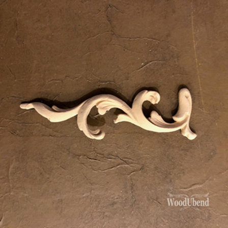 WoodUbend Scroll -left- 16,6 x 4,5 cm