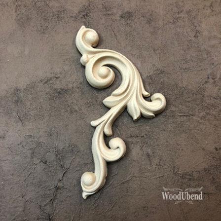 WoodUbend Ornament -rechts-, 18x14x13 cm