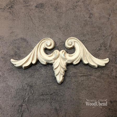 WoodUbend Pediment/Giebel 13,4 x 6,5 cm