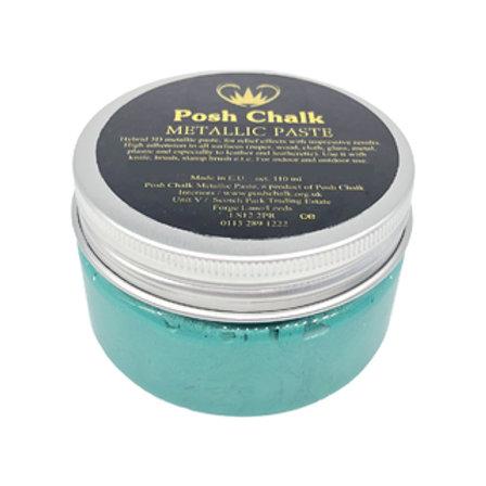 Posh Chalk Smooth Metallic Paste green