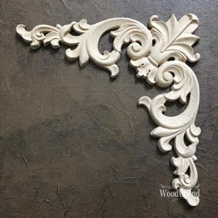 WoodUbend Pediment/Giebel 27x14cm