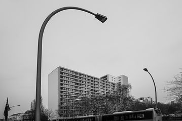 Haus Strassenlampe lamp berlin
