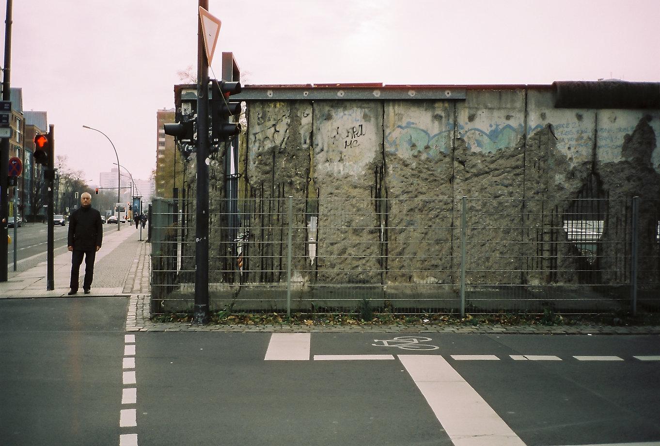 Berliner Mauer Berlin analog Fotografie