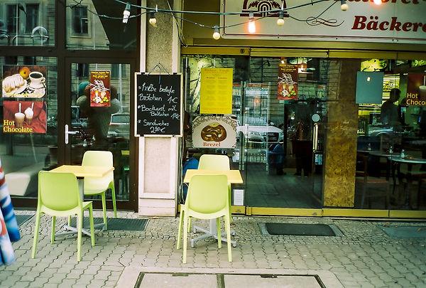 Berlin Plattenbau Bäcker