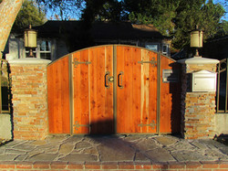 Wood Iron Single Gate